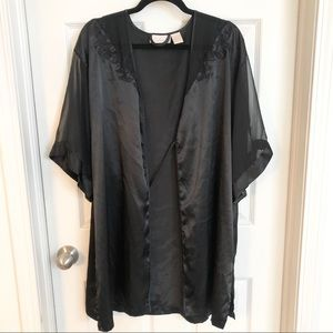 Vintage black robe